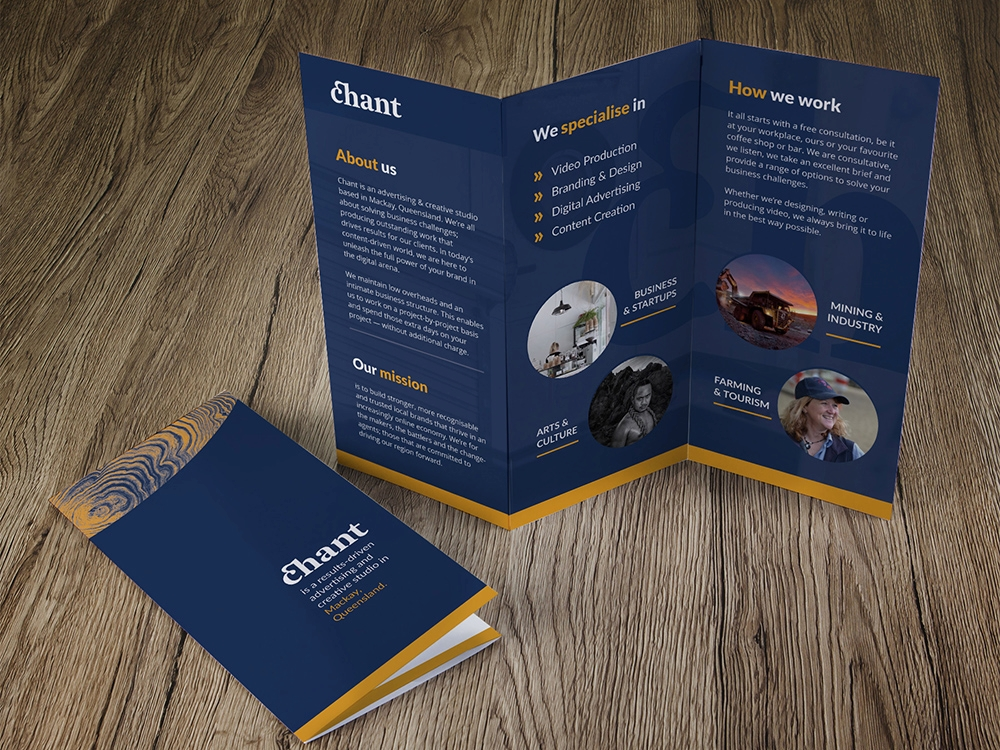 chant studio DL brochure