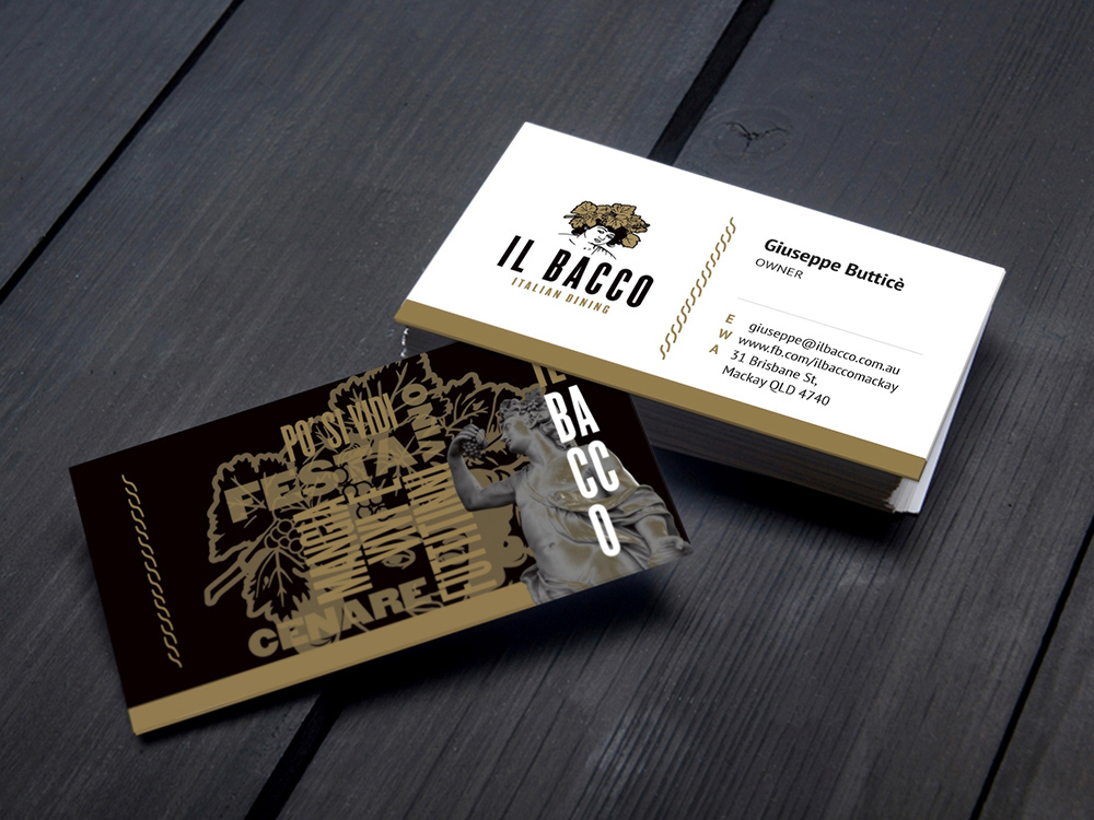 IL BACCO business cards